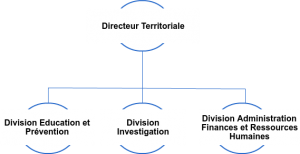ORGANIGRAMME Direction Territoriale