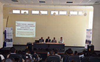 Séance de mobilisation à la Lutte Contre la Corruption pour les élèves de la promotion entrante de l'ENAM, en présence de Monsieur le Directeur Général de l'ENAM