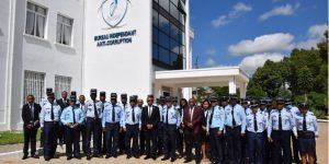 Cérémonie de remise de déclaration de patrimoines de la Gendarmerie Nationale