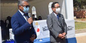 Renforcement de l'appui japonais à la lutte contre la corruption à Madagascar :  Remise de matériels et équipements au BIANCO.