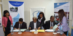 Coalition entre le BIANCO, l'Alliance Voahary gasy et le SCOOP Digital