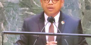 Intervention de Monsieur Laza ANDRIANIRINA, DG du BIANCO à la 32ème session spéciale de l'Assemblée Générale des Nations Unies sur la corruption, New York, 2-4 juin 2021