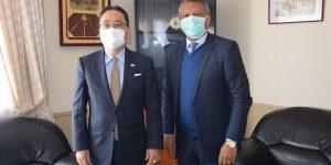 Visite de courtoisie de l'Ambassadeur du Japon auprès du Directeur Général du BIANCO