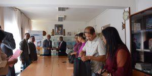 Dépôt de Déclaration de Patrimoine du MESUPRES le 05 novembre au BIANCO Ambohibao.