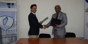 Signature de convention entre le BIANCO et la GIZ Soutien de l'Allemagne dans le  «Projet de renforcement des capacités du BIANCO»