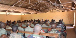 Régiment Militaire n°4 Mahajanga:  Les militaires s'approprient de la Lutte Contre la Corruption