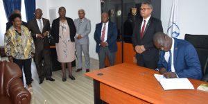 Mission d'évaluation de la mise en oeuvre de la Convention de l'Union Africaine sur la Prévention et la Lutte contre la Corruption à Madagascar